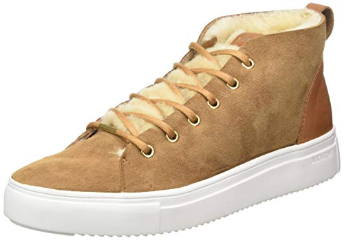 Blackstone Damen QL48 Sneaker, Braun (Rust Rust), 38 EU