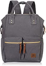 Veegul Stylish Doctor Style Multipurpose Travel Backpack Casual Backpack for Men Women Dual Pockets Grey