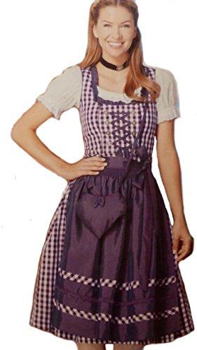 Esmara, set da 4 pezzi, vestito tradizionale Dirndl Oktoberfest, colore rosa Colore: rosa. 42