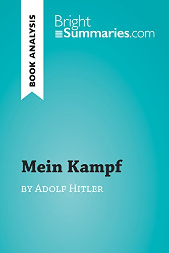 Mein Kampf by Adolf Hitler (Book Analysis): Detailed Summary, Analysis and Reading Guide (BrightSummaries.com) (English Edition)