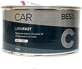 URKI-FAST MASILLA DE RELLENO UNIVERSAL 2K GRIS CLARO 7035 2KG