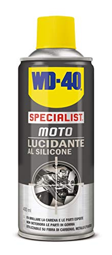 WD-40 Specialist Moto - Lucidante al Silicone Spray Moto - 400 ml