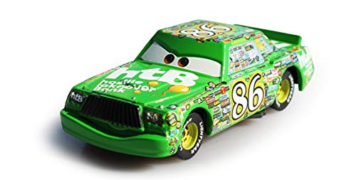 Desconocido Disney 5 Styles Pixar Cars 2 100% Lightning Mcqueen Chick Hicks Diecast Metal Alloy Car Model Multi Color Kids Present Toys Chick Hicks