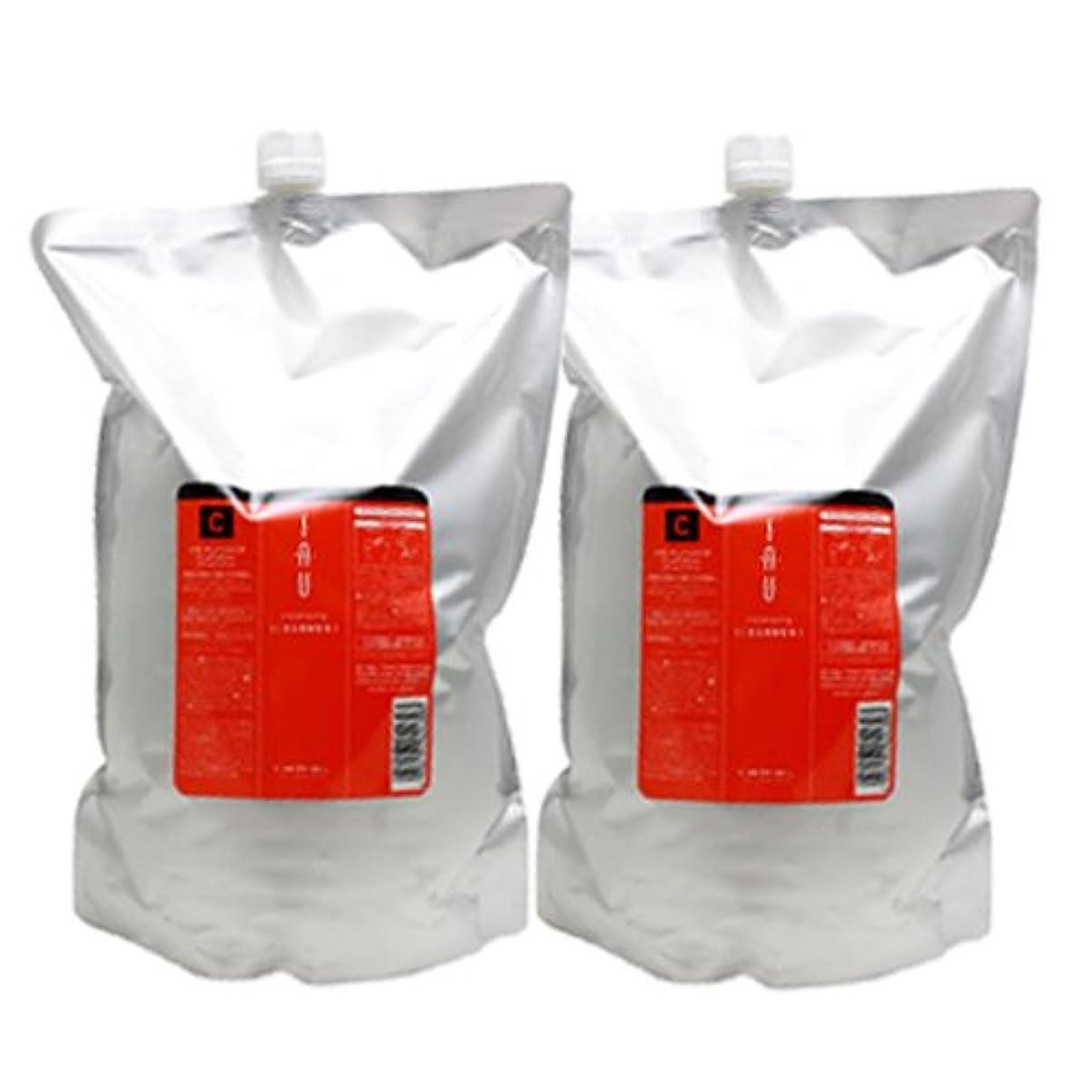 遅い小麦粉健全ルベル イオ クレンジング(シャンプー) クリアメント 2500mL × 2本 セット 詰め替え LebeL iau
