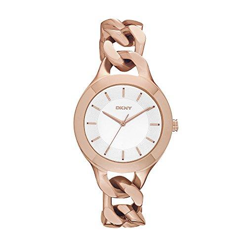 DKNY NY2218 Reloj Chambers, Redondo, Análogo para Mujer