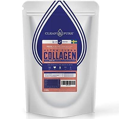 Bulletproof Collagen Powder 400g | Lab Verified: No Growth Hormones, Antibiotics, Pesticides | Sweden Grass Fed Cattle | Collagen Protein Powder with Hydrolyzed Collagen Peptides | Clean and Pure