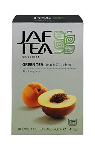 JAF TEA Grüner Tee - Pfirsich & Aprikose - 20 Teebeutel