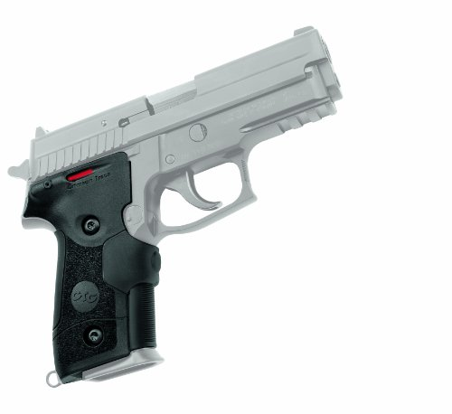 Crimson Trace LG-429 Lasergrips with Red Laser, Heavy Duty Construction and Instinctive Activation for Sig Sauer P228/P229 Pistols, Defensive Shooting and Competition