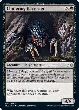 Magic: The Gathering - Chittering Harvester - Ikoria: Lair of Behemoths