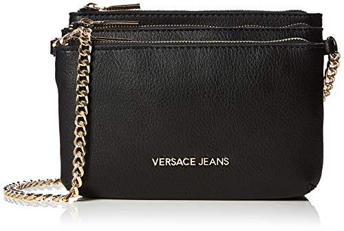 Versace Jeans Bag, Borsa a Tracolla Donna, Nero (Nero), 8x15x20 cm (W x H x L)