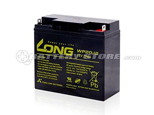 《高性能シールドバッテリー 12V20Ah》Long WP20-12  非常用電源等に!GP12170 PE12V17 12SSP18 NPH16-12T 12m17W HF17-12A 互換 サイクルバッテリー等