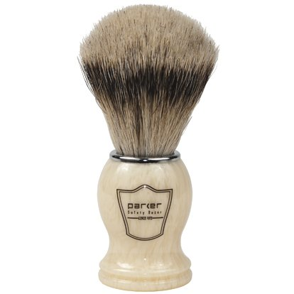 Our #3 Pick is the Parker Safety Razor Silvertip Badger Shaving Brush
