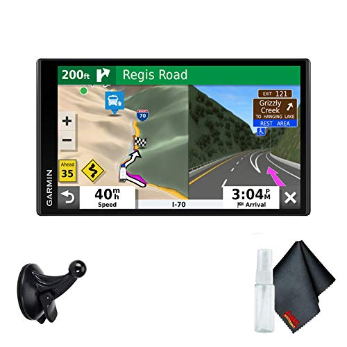 Garmin RV 780 GPS for RV and Camping Base Accessory Kit - Includes - 1-Year Extended Warranty