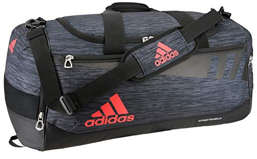 adidas Unisex Team Issue Medium Duffel Bag, Onix React/Black/Hi - Res...