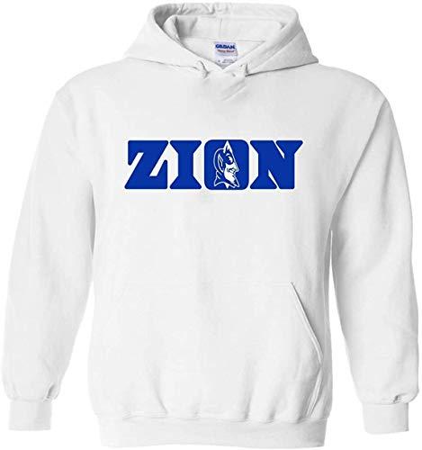 White Duke Zion Logo Hooded Sweatshirt Youth