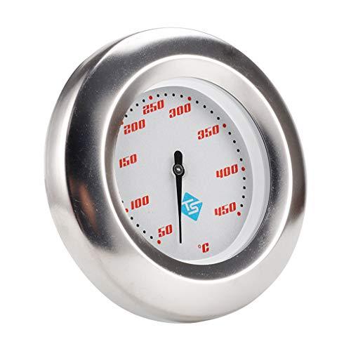 Boji Termómetro de horno, 50 – 450 ℃, termómetro de cocina de acero inoxidable, para barbacoa, barbacoa, temperatura del horno