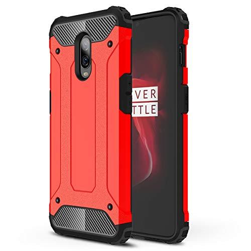HUUH Funda OnePlus 6T Carcasa Caja de teléfono móvil, combinación TPU +...