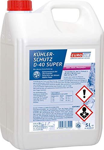 EUROLUB Kühlerschutz D-40 Super, 5 Liter