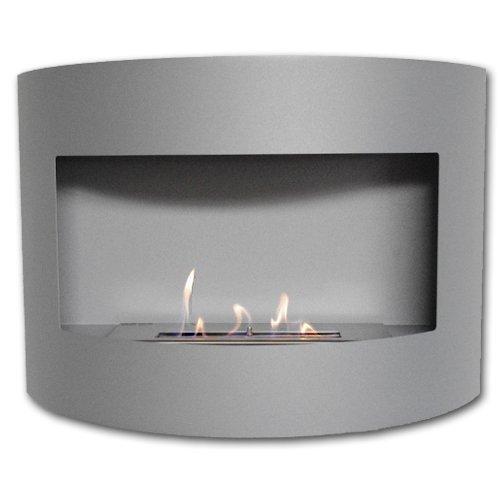 Design Fireplace RIVIERA Deluxe Matt Bio Ethanol Gel Fire Place