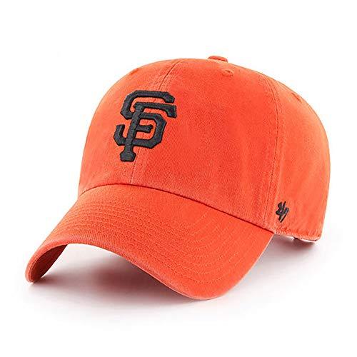 '47 MLB Alternate Clean Up Adjustable Hat, Adult (San Francisco Giants Orange)