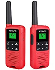 Retevis RT649B Walkie Talkie, 16 Canales, PMR446 Licencia Libre (2 Piezas)