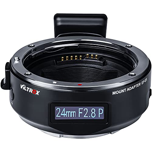 VILTROX EF-E5 Lens Adapter for Sony E Mount, OLED Display Auto Focus...