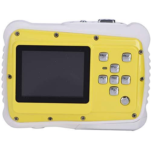 CXD Kinder Digitalkamera Wasserdicht, Hohe Qualität 2\'\' Bildschirm 720P HD Fotos 8 Megapixel Mit Handschlaufe Und USB-Kabel Praktisch Und Schön Einfaches Tragen,1