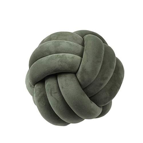 Cuscino con nodo a palla Morbido Cuscino Cuscino imbottito per letto Cuscino per decorazioni per la casa Cuscino decorativo con palla per divano camera da letto 14