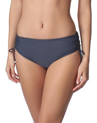 Merry Style Damen Bikini Unterteil M30 (Graphite (9154), 40 (Herstellergröße: L))