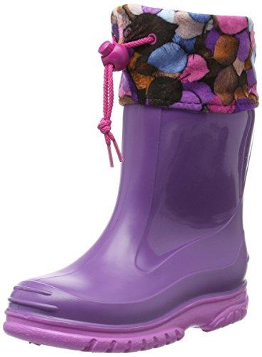 Romika Unisex-Kinder Slimmy Gummistiefel, Violett (viola-pink 575), 25 EU