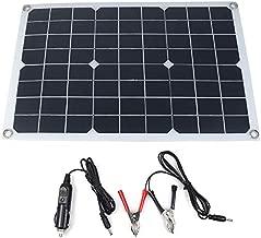 TOTAMEND Solar Panel | 12V/5V Waterproof Solar Panel USB Monocrystalline Solar Panel Car Charger for Outdoor Camping Emergency Light
