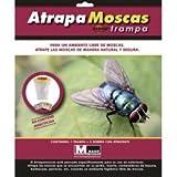 ATRAPA Moscas Redtop. Incluye Tres Sobres DE ATRAYENTE.