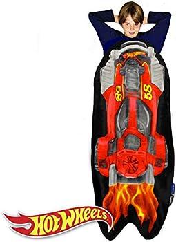 Blankie Tails Hot Wheels Car Shaped Wearable Blankets