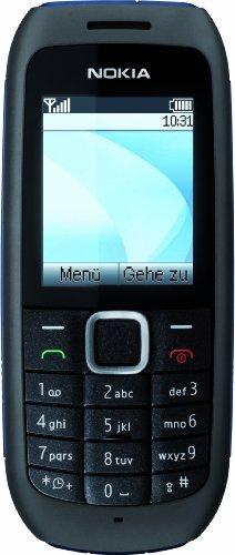 Nokia 1616 Handy (UKW-Radio, Farbdisplay, Flashlight) ohne Vertrag, ohne Branding, kein Simlock schwarz