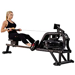 Best rowing machine under $500 review for your home workout includes Sunny Health & Fitness Water Rower