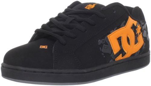 DC Shoes Herren Schuhe-NET SE TP-D0320091-KCTD-black Sportive Sneakers, Schwarz (BLK/Citrus KCTD), 41 EU
