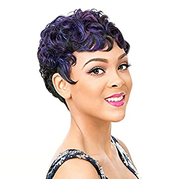 It s A Wig Synthetic Hair Wig Nuna  1B - OFF BLACK