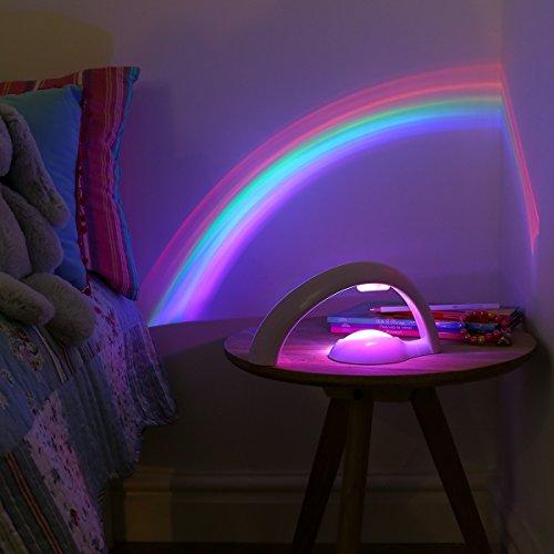 Veilleuse Arc-en-Ciel pour Enfant - LED à Couleur Changeante - à Piles