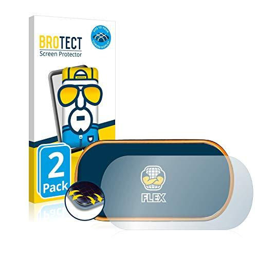 BROTECT Protector Pantalla Completa Compatible con Medisana ViFit Connect Activity Tracker (2 Unidades) 3D Curvo