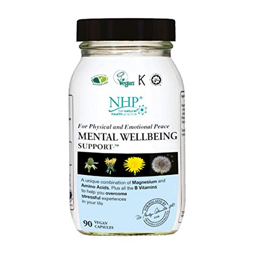 Natural Health Mental Wellbeing Support Capsules, 0.1 kg