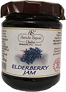 Elderberry Jam 200gr - 7.05oz   Directly imported from selected artisanal farms in Italy