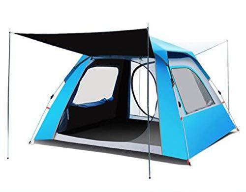 ADGN Explorer la Pleine Automatique Tente extérieure 4 Personnes Épaississement Camping Sauvage antipluie Unique Camping,B