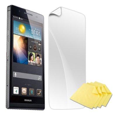 numia Bildschirmschutzfolie kompatibel mit Huawei Ascend P6 Folie Ascend P6 Schutzfolie Klar