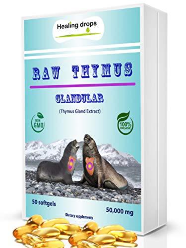 Raw Thymus Drüsengewebe Ocean Fed Harbor Seal Drüsen Extrakt Natürliche Gesundheit Immununterstützung