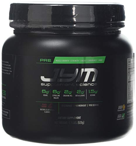 JYM Supplement Science Pre Black Cherry Supplement, Pack of 20