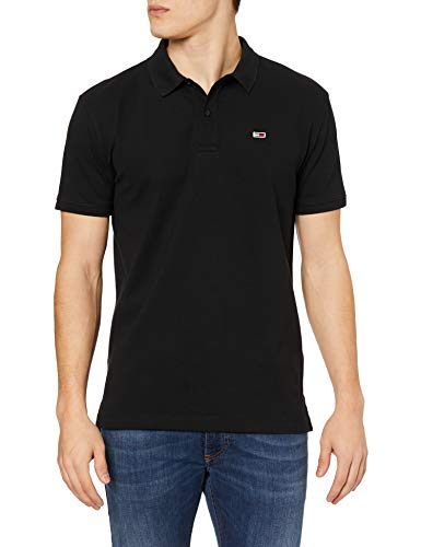 Tommy Hilfiger Man Polo Classics Solid Stretch Polo dm0dm07196 XXL Black