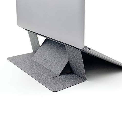 MOFT - Supporto per computer portatile sottile, adesivo e riutilizzabile, regolabile, perfetto angolo di visione, compatibile con computer portatili fino a 15,6', Jean Grey