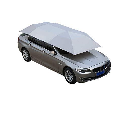 Carpa para auto, completamente automática, cubierta de carpa para paraguas portátil plegable plegable, carpa de cuatro estaciones, toldo de protección para...