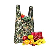 Urban Camouflage Fold Eco-Friendly Shopping Bags Large Capacity Daily Necessity