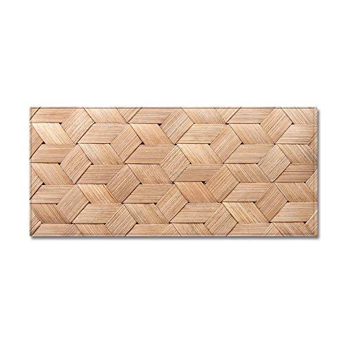 WGOO Carpet Tapis de Cuisine Devant Evier Tapis Cuisine Antidérapant Absorbent Lavable en Machine,Beau Tapis De Salle De Bains D